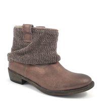 Tamaris / Boots Tobacco Metall - Stiefelette Bronze Metalisch - mit Strick-Stulpe
