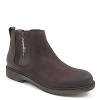 NAPAPIJRI / KLARA DARK BROWN - Damen Chelsea-Boots Braun Nubukleder