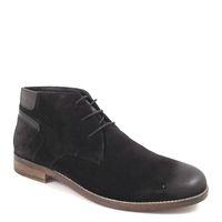 s.Oliver / Herren-Boots Schwarz - Desert Boot Black - Herrenschuhe