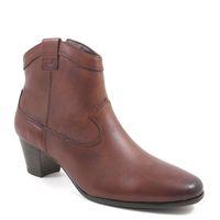 CAPRICE / Stiefelette Cognac Antic - Ankle Boots Braun