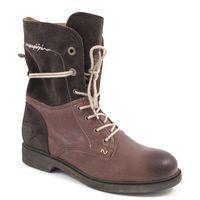 NAPAPIJRI / KLARA Schnürstiefel Mid Brown - Damen Boots Braun