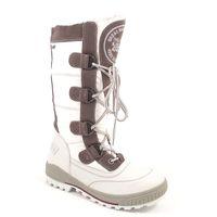 s.Oliver / Stiefel Weiss - Winterstiefel White/Pepper - Snowboots