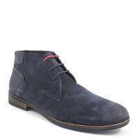 s.Oliver / Herren-Boots Blau - Desert Boots Navy - Herrenschuhe Dunkelblau