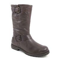 Caprice / Stiefel Braun - Boots Brown - gefütterte Bikerstiefel
