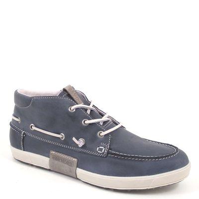 NAPAPIJRI / NANSEN INDIGO BLUE - Herren-Schnürer Blau (Bootschuhe)
