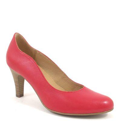 Caprice / Pumps Rot - klassische Lederpumps Red - Henny - High Heels