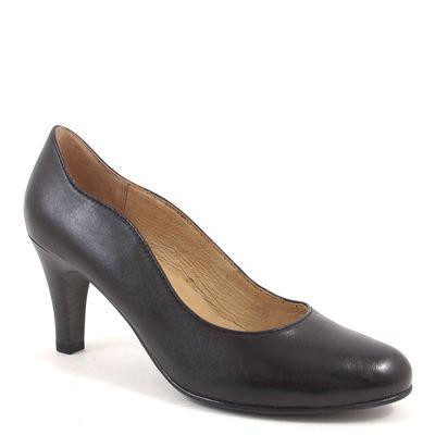 Caprice / Pumps Schwarz - Lederpumps Schwarz - Henny - High Heels