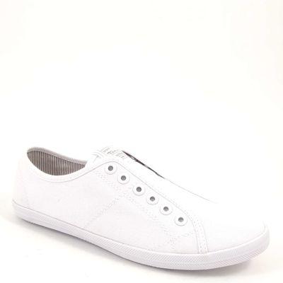 Tamaris / Sneaker Weiss - Slipper White - Trend Stoffschuhe