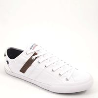 s.Oliver / Sneaker Weiss - Herrenschuhe White Comb - Stoffschuh