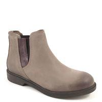 NAPAPIJRI / Chelsea-Boots KLARA TAUPE - Stiefeletten Grau Nubukleder