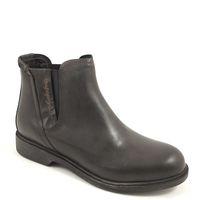 NAPAPIJRI / KLARA BLACK - Damen Chelsea-Boots Schwarz Leder