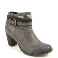s.Oliver / Stiefelette Grau - Ankle Boots Graphite - elegant