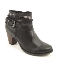 s.Oliver / Stiefelette Schwarz - Ankle Boots Black - elegant