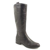 Caprice / Reitstiefel Schwarz - Stiefel Black Antic - Lederstiefel