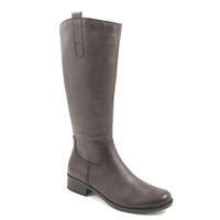 Caprice / Reitstiefel Grau - Stiefel Grey Antic - Lederstiefel