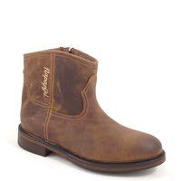NAPAPIJRI / Damen Boots Braun - LEONE CRAZY HORSE COGNAC - Stiefelette Western