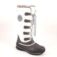 Caprice / Outdoor-Boots Dk.Grey White - Stiefel Weiss-Grau - TEX Snowboots