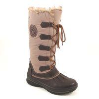 Caprice / Outdoor-Boots Dk.Brown Taupe - Stiefel Braun-Mix - TEX Snowboots