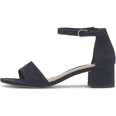 Tamaris / Sandalette Blau/Dunkelblau mit mittlerem Absatz