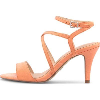 Tamaris / Riemchen-Sandalette Orange, High Heels Pfirsich