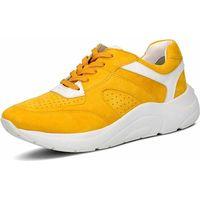Caprice / Sportiver Damen-Sneaker, Gelb - Freizeitschuh