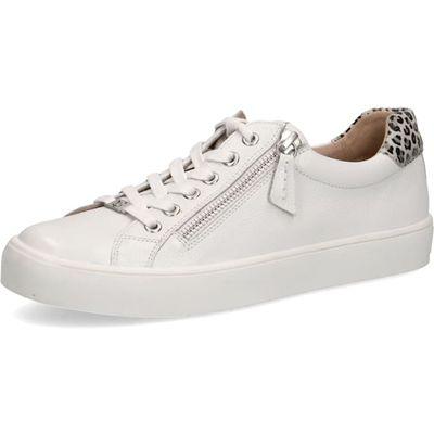 Caprice / Caprice Sneaker Weiss-Leopard, mit Reissverschluss