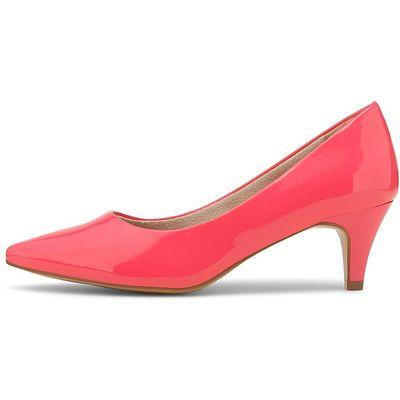 Tamaris / Pumps Pink, Lackpumps Rot