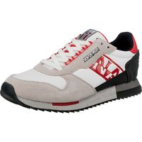 Napapijri / Sneaker »Virtus« Weiss/Rot/Grau - Herren-Sneakers White/Red