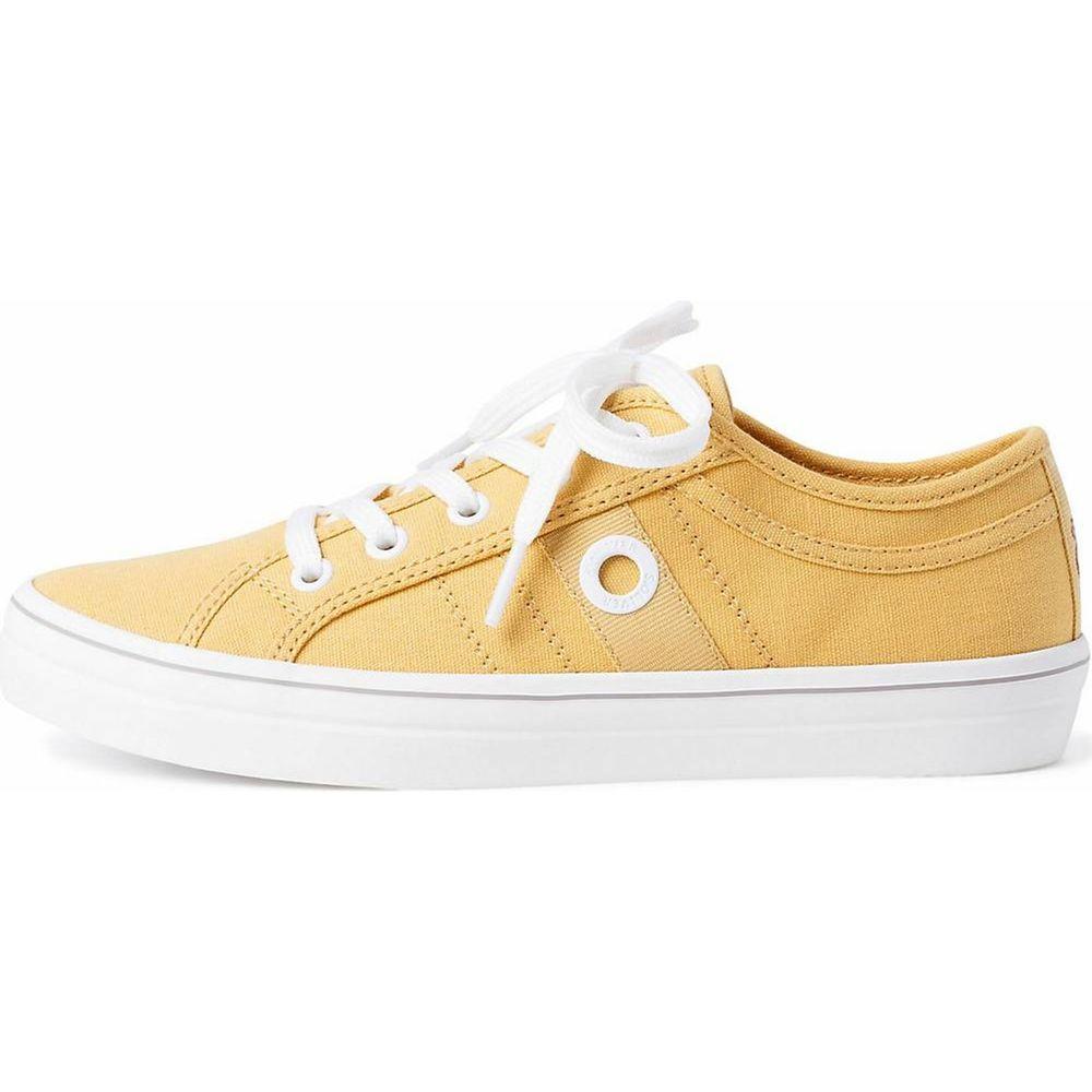 s.Oliver / Sneaker Gelb - Turnschuhe Yellow - Stoffschuhe