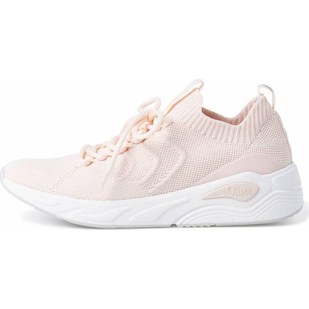 s.Oliver / Sneaker Pastellrosa - Turnschuhe light rosa - Stoffschuhe