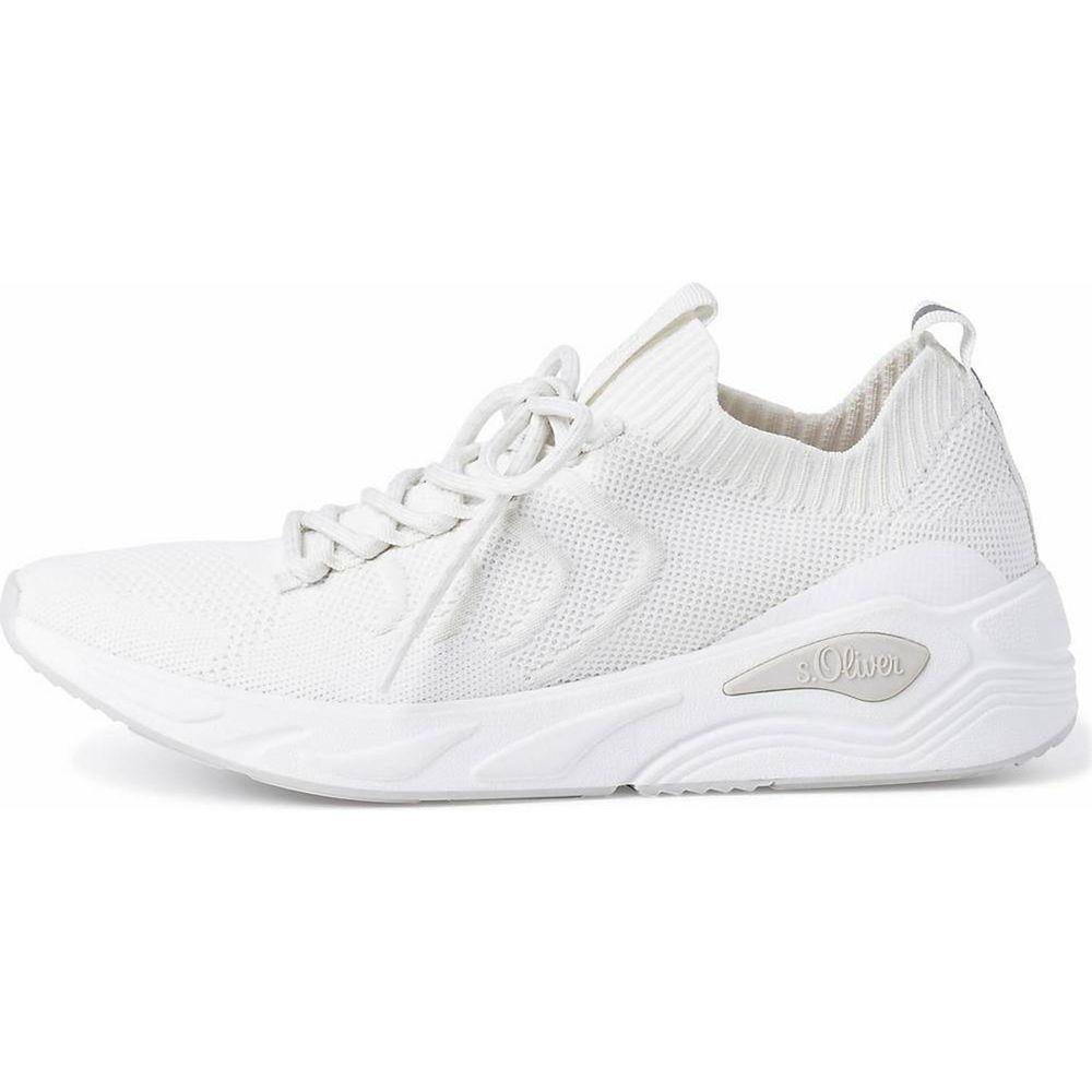 s.Oliver / Sneaker Weiss - Turnschuhe White - Stoffschuhe
