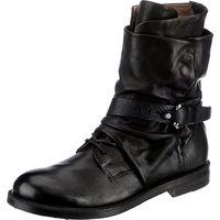 A.S.98 / Biker Boots Schwarz, Westernstiefeletten Black