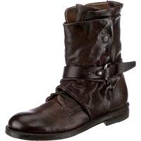 A.S.98 / Biker Boots Dunkelbraun, Westernstiefeletten Dark Braun