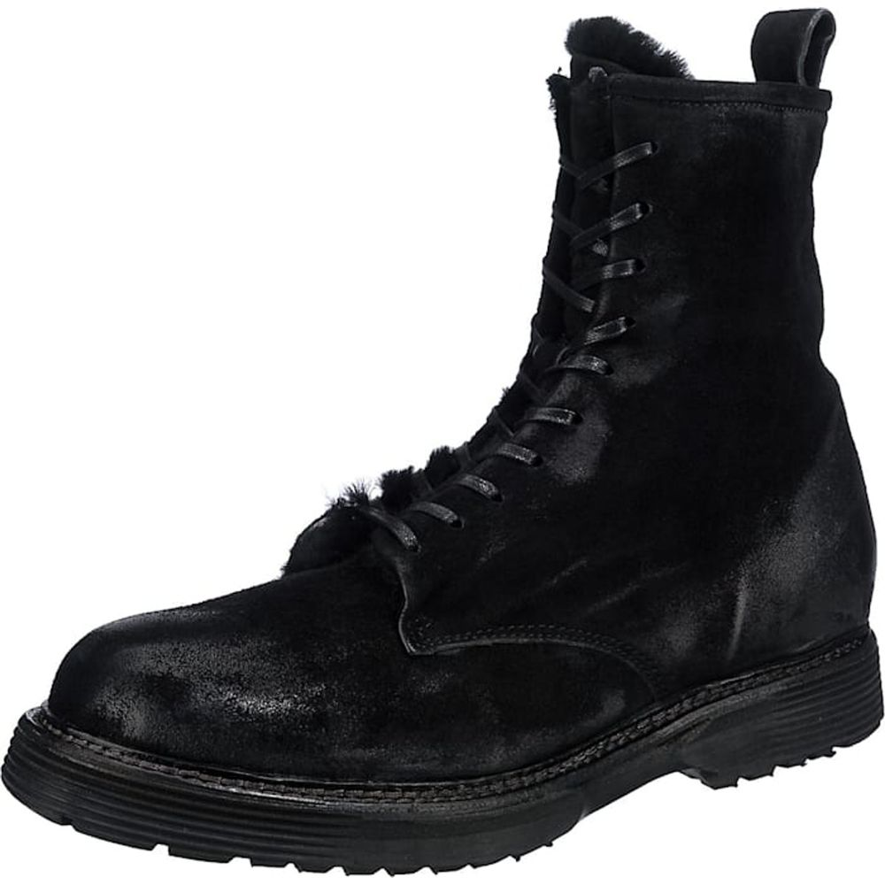 A.S.98 / Winterstiefeletten Schwarz, Winter Boots Dark Black