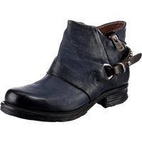 A.S.98 / Biker Boots Dunkelblau, Western Stiefeletten Dark Blue