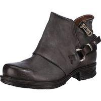 A.S.98 / Biker Boots Dunkelgrau, Western Stiefeletten Dark Gray